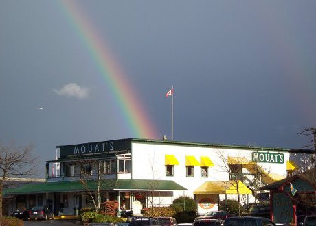 Rainbow over Mouats Trading Company